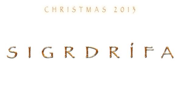 Christmas 2013 Sigrdrifa logo