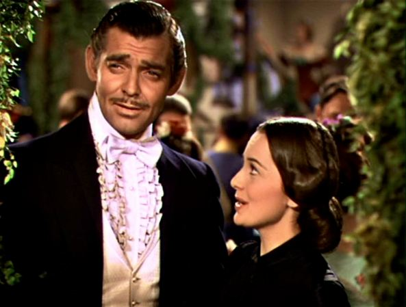 Rhett Butler and Melanie Wilkes