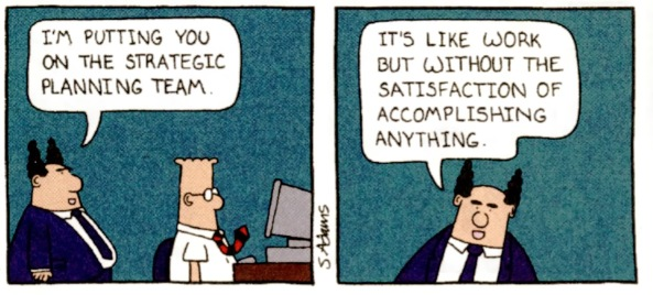 Dilbert is prophetic. Literally.