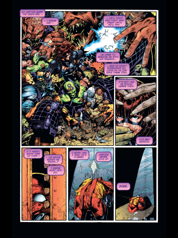 Don't fret too much, Colossus; if Magneto is successful your failure won't matter. Or will it?